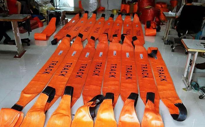 สายสลิงอ่อน ภายใต้ Brand TRACK - บริษัท เคซีบี สลิง (ประเทศไทย) จำกัด